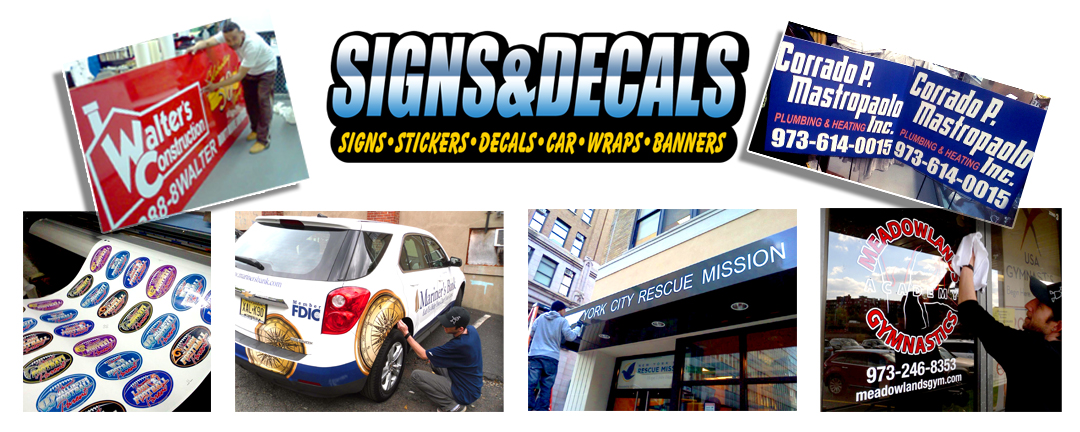Saddle Brook signs & decals